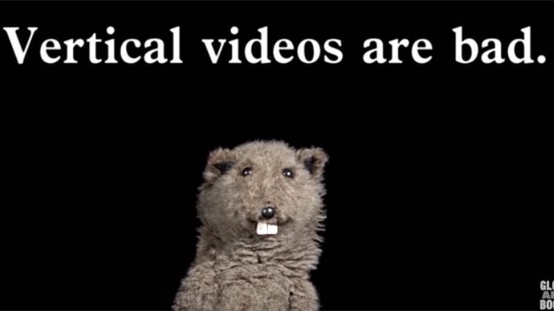Vertical videos are bad.