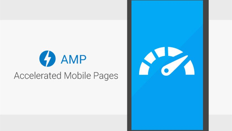 The AMP (Accelerated Mobile Pages) logo