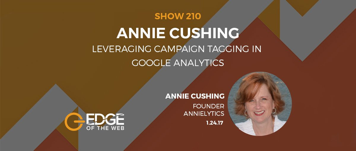 Show 210: Leveraging campaign tagging in Google analytics, featuring Annie Cushing