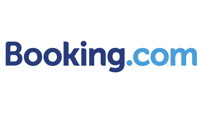 The Booking.com logo on a white background