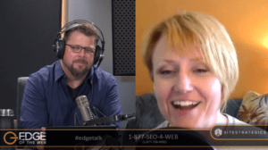 Susan Wenograd on EDGE of the Web, the SEO Podcast