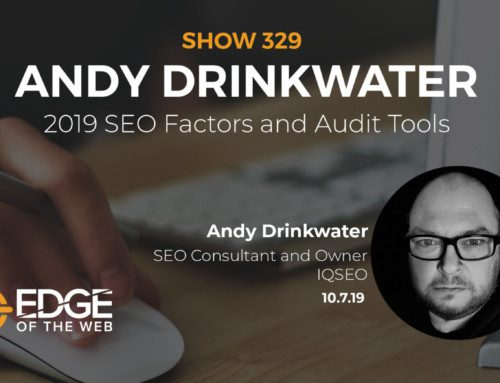 SEO Auditing with Andy Drinkwater of IQ SEO