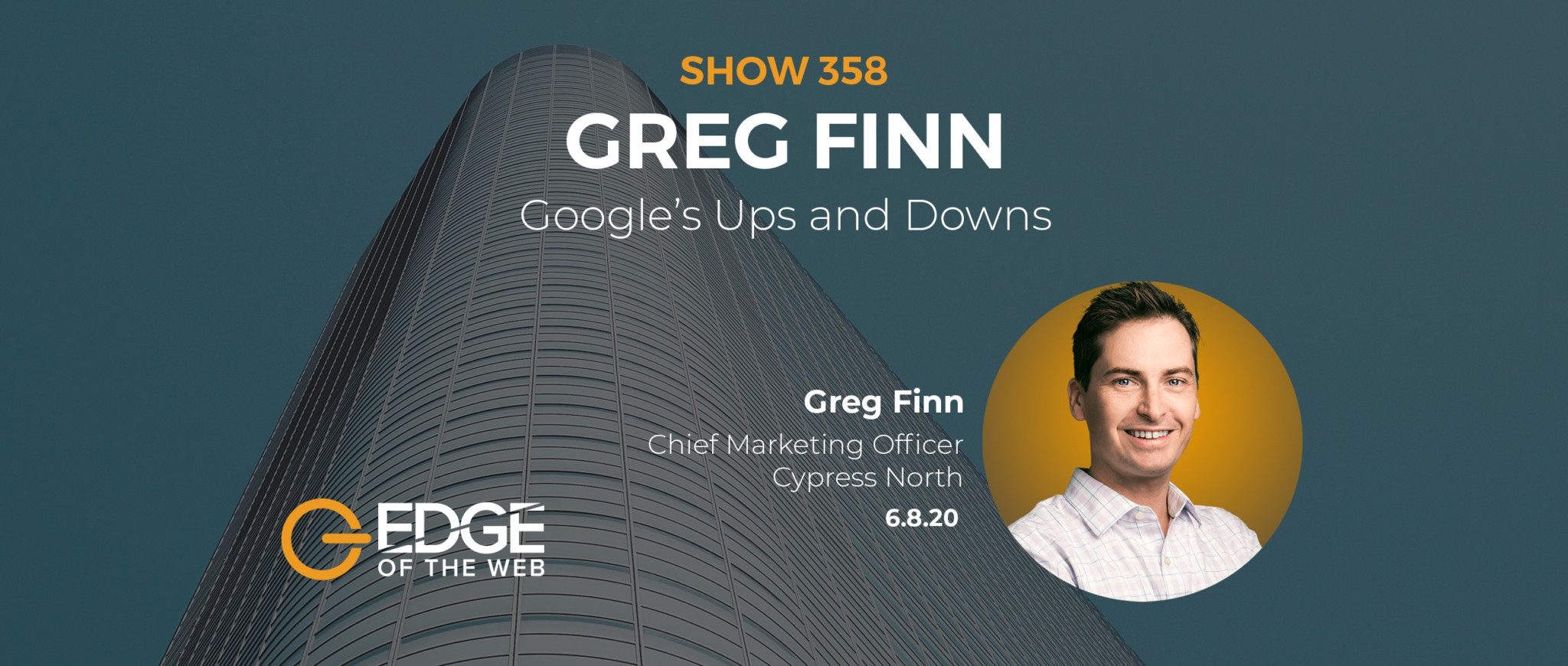 Greg Finn EDGE of the Web Featured Image