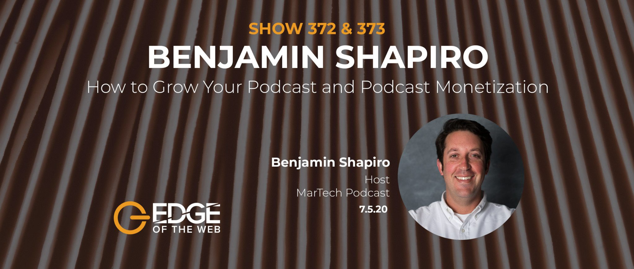 EP 372 & 373: How to Grow Your Podcast with Benjamin Shapiro