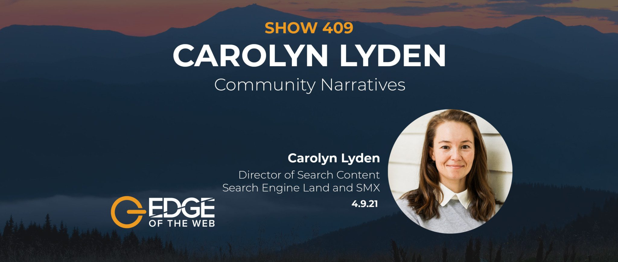 409 | Community Narratives with Carolyn Lyden of Search Engine Lan‪d‬
