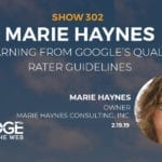 The Google Quality Rater Guidelines and EAT with Marie Haynes