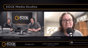 Dr. Maria Haynes on EDGE of the Web Podcast