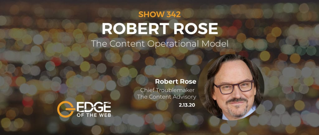 Robert Rose EDGE Featured Image