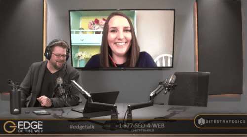 Amy Bishop on EDGE of the Web with Erin Sparks