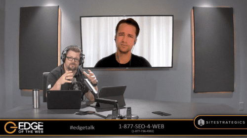 Jeroen Corthout and Erin Sparks on EDGE of the Web